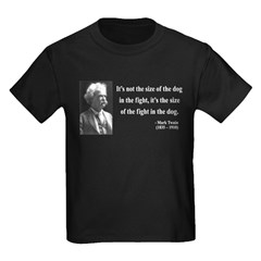 Mark Twain 2 Kids Dark T-Shirt