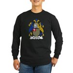 Poynton Family Crest Long Sleeve Dark T-Shirt