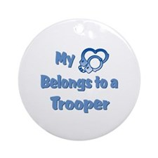 Trooper Heart Ornament (Round)
