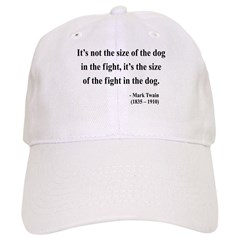 Mark Twain 2 Baseball Cap