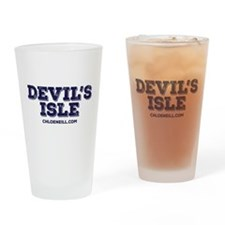 Devil's Isle Drinking Glass