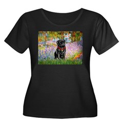 Garden / Black Pug T