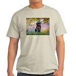 Garden / Black Pug Light T-Shirt