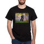 Garden / Black Pug Dark T-Shirt