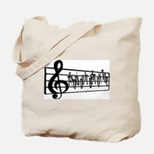 Tenor's do it best on top Tote Bag