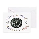 Pitch pipe Greeting Cards (10 Pack)