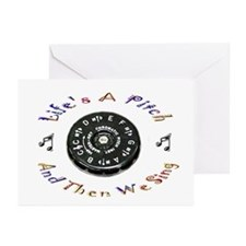 Life's a Pitch Greeting Cards (Pk of 10)