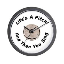 Pitching Wall Clock
