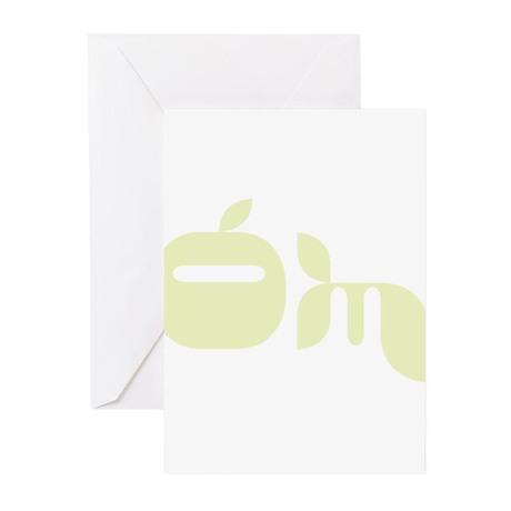 Yoga OM Greeting Cards (Pk of 10)