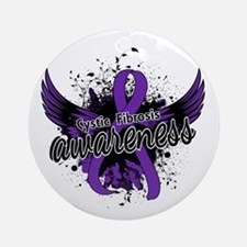 Cystic Fibrosis Awareness 16 Ornament (Round)