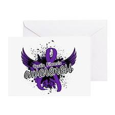 Cystic Fibrosis Awareness 16 Greeting Card