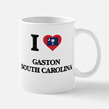 I love Gaston South Carolina Mugs