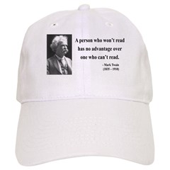 Mark Twain 3 Baseball Cap