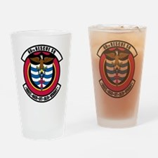 66th RQS Drinking Glass