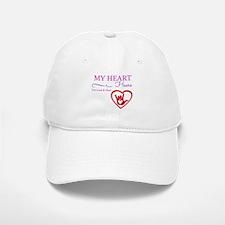 heart hears pink Baseball Baseball Baseball Cap