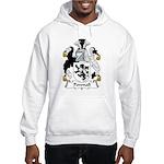 Pownall Family Crest Hooded Sweatshirt
