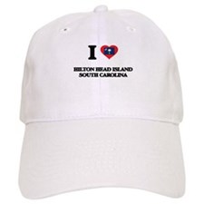 I love Hilton Head Island South Carolina Baseball Cap