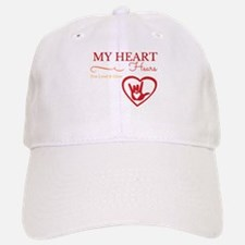 Heart Hears red Baseball Baseball Baseball Cap