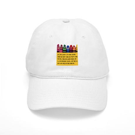Peaceful Crayons Cap