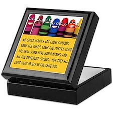 Peaceful Crayons Keepsake Box