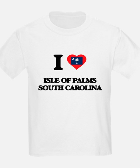 I love Isle Of Palms South Carolina T-Shirt