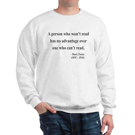 Mark Twain 3 Sweatshirt