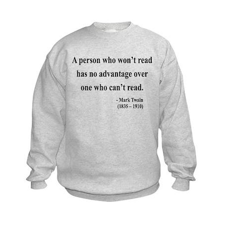 Mark Twain 3 Kids Sweatshirt