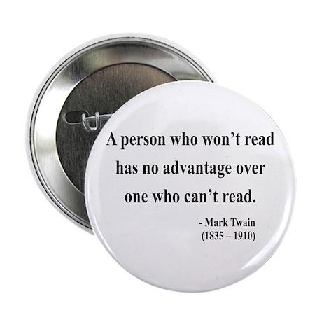 """Mark Twain 3 2.25"""" Button (100 pack)"""