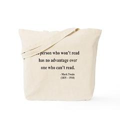 Mark Twain 3 Tote Bag