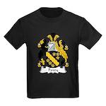 Povey Family Crest Kids Dark T-Shirt
