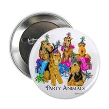 "Welsh Terrier Party 2.25"" Button (10 pack)"