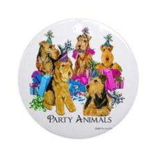 Welsh Terrier Party Ornament (Round)