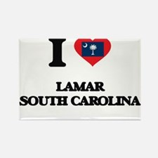 I love Lamar South Carolina Magnets