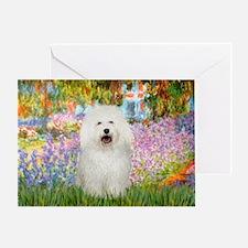 Garden/Bolgonese Greeting Card