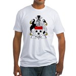 Poulter Family Crest Fitted T-Shirt