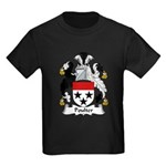 Poulter Family Crest Kids Dark T-Shirt