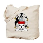 Poulter Family Crest Tote Bag