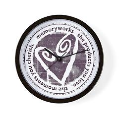 Round Seal Wall Clock