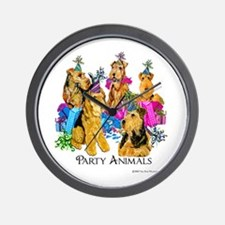 Welsh Terrier Party Wall Clock