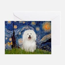 Starry Night Bolognese Greeting Card
