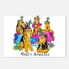 Welsh Terrier Party Postcards (Package of 8)