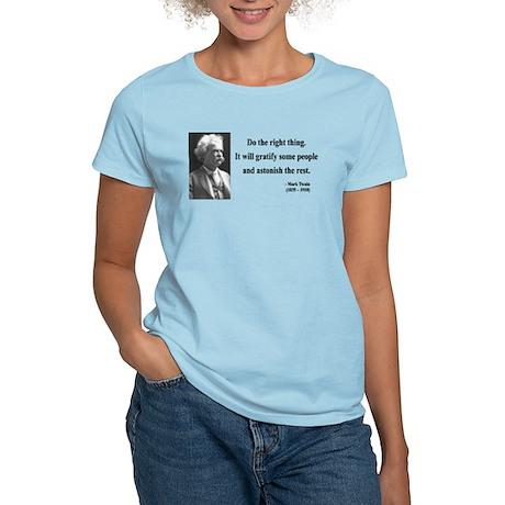 Mark Twain 4 Women's Light T-Shirt
