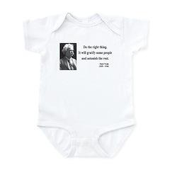 Mark Twain 4 Infant Bodysuit
