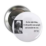 "Mark Twain 4 2.25"" Button (100 pack)"
