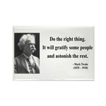 Mark Twain 4 Rectangle Magnet (100 pack)