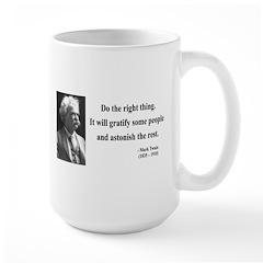 Mark Twain 4 Large Mug
