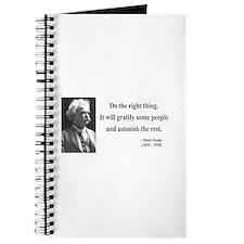 Mark Twain 4 Journal