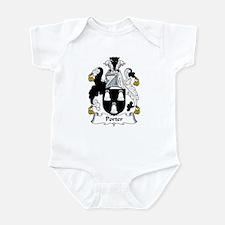 Porter Family Crest Infant Bodysuit