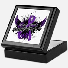 Crohn's Disease Awareness 16 Keepsake Box