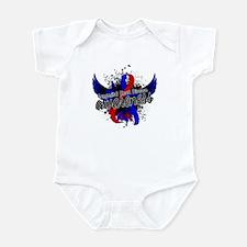 Congenital Heart Disease Awareness Infant Bodysuit